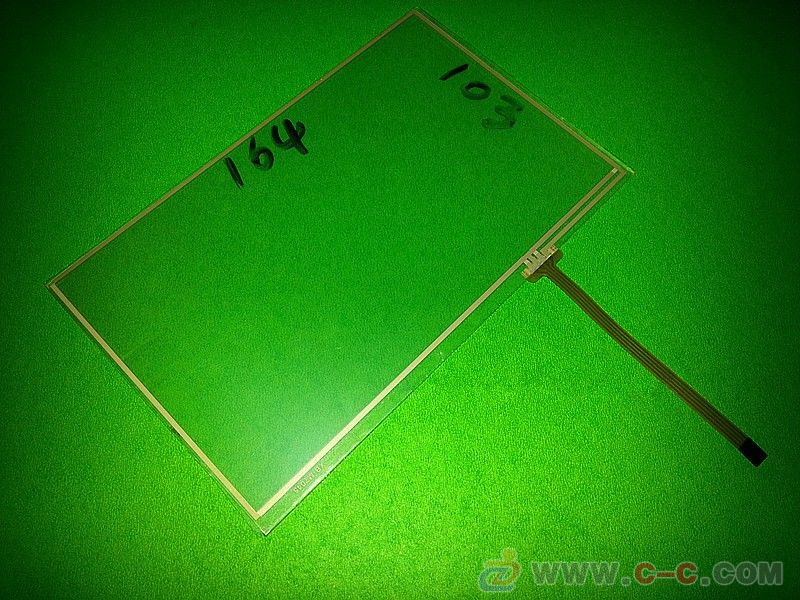 7''inch 4 wire Resistance 164mm 103mm Touch Screen